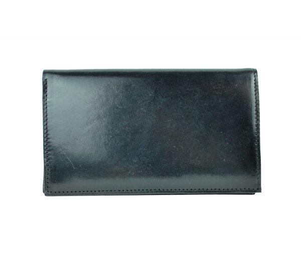Luxusná elegantná kožená dokladovka č.8203 v čiernej farbe