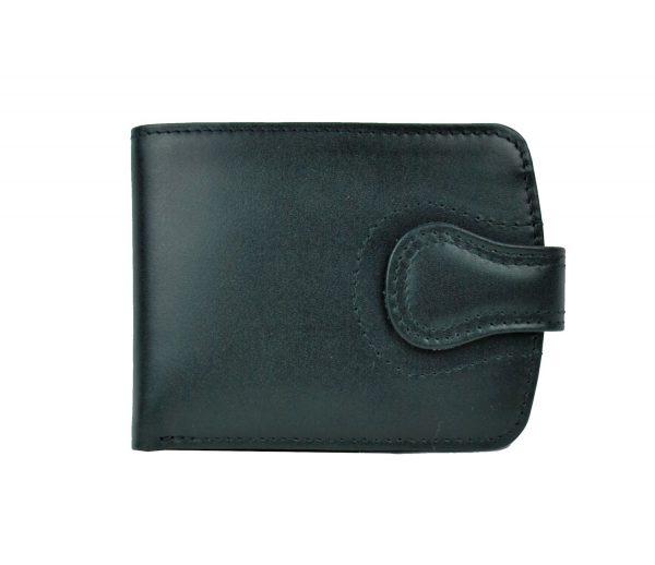Luxusná elegantná kožená peňaženka č.8467 v čiernej farbe