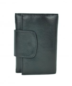Luxusná exkluzívna kožená peňaženka č.8425 v čiernej farbe