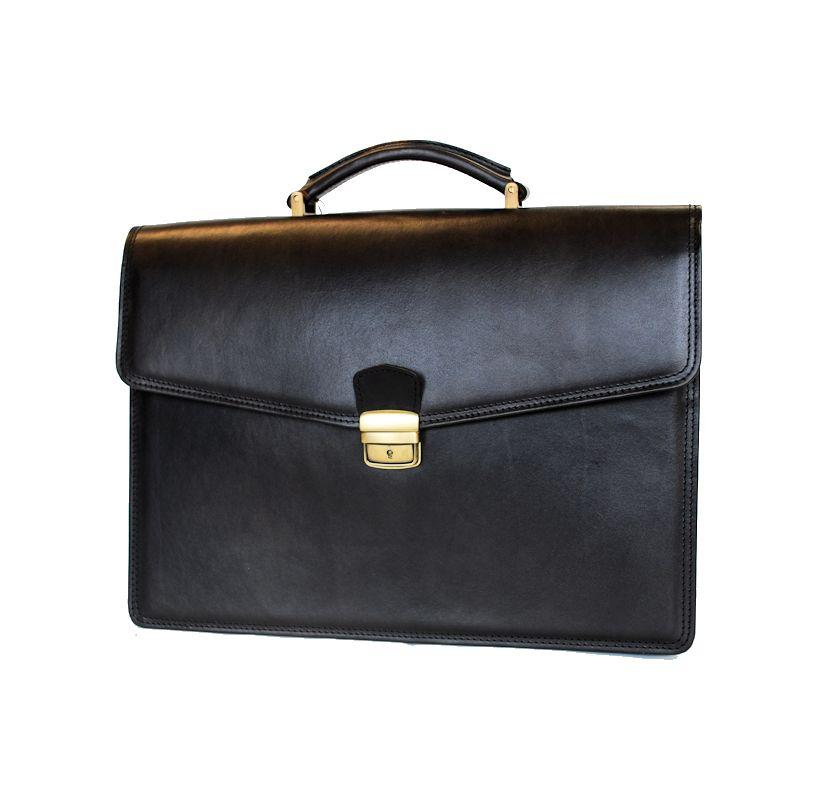 0b70deedf Luxusná kožená aktovka č.8131 v čiernej farbe · Luxusné a módne ...