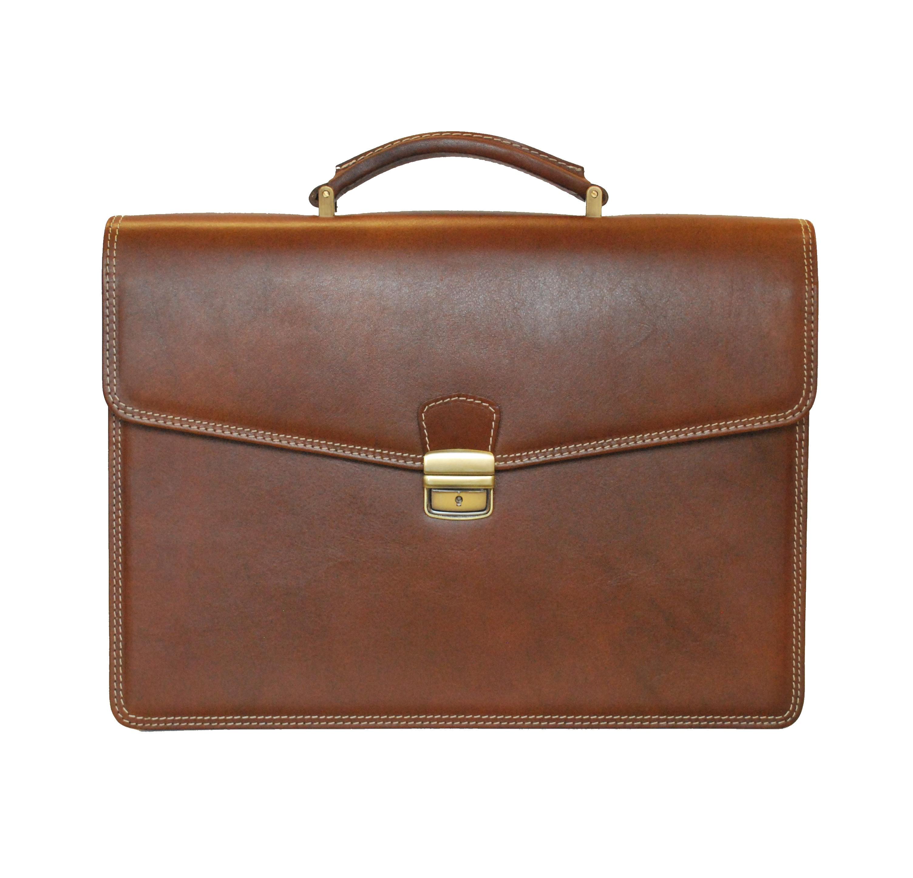 96a2d85f0e Luxusná kožená aktovka z pravej kože v hnedej farbe č.8129 · Luxusné ...
