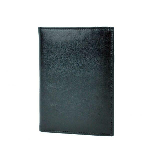 Luxusná kožená dokladovka č.8204 v čiernej farbe