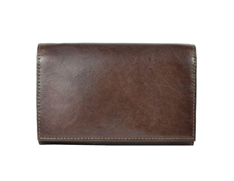 3e9298868a Luxusná kožená peňaženka č.8542 v tmavo hnedej farbe · Luxusné a ...