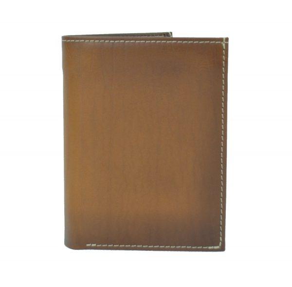 Luxusná kožená peňaženka č.8560 v hnedej farbe