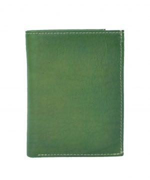 Luxusná kožená peňaženka č.8560 v zelenej farbe