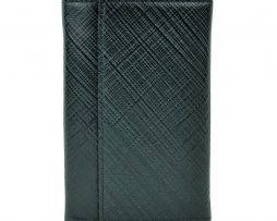 Luxusná kožená peňaženka s mriežkovaným dekorom č.8559-1 v čiernej farbe 3f8a82d1d0d