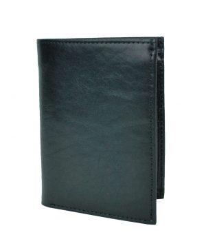 Luxusná kožená peňaženka č.8560 v čiernej farbe