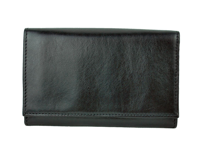 3c9c63b64a Luxusná kožená peňaženka č.8542 v čiernej farbe · Luxusné a módne ...