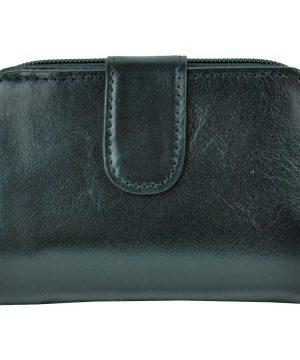 ec38d775b0 Luxusná kvalitná kožená peňaženka č.8148 v čiernej farbe · Luxusné a ...
