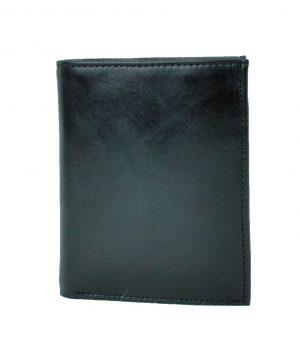 Luxusná moderná kožená dokladovka č.8194 v čiernej farbe