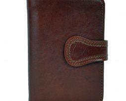 Luxusná moderná kožená peňaženka č.8462 v hnedej farbe dd72b99c648
