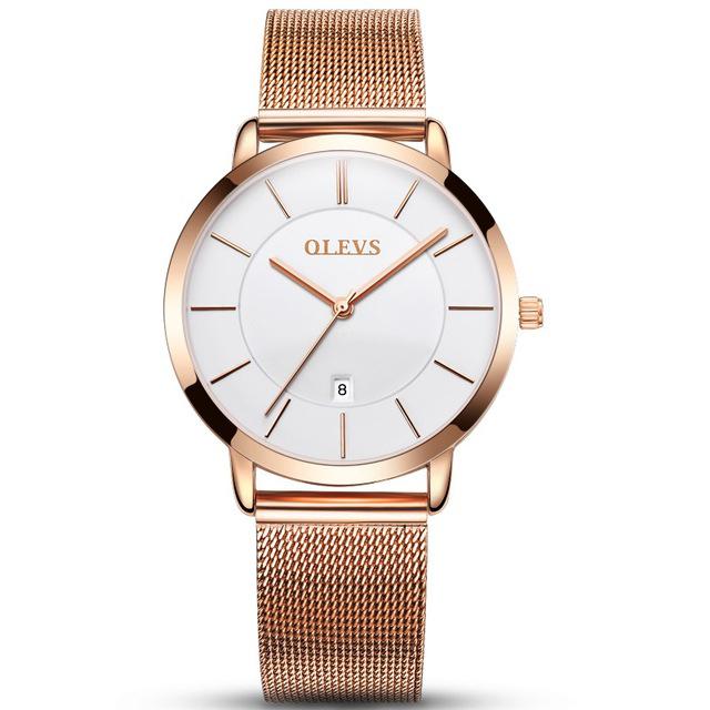 Luxusné dámske hodinky Olevs v rôznych farbách  cebb07704e8