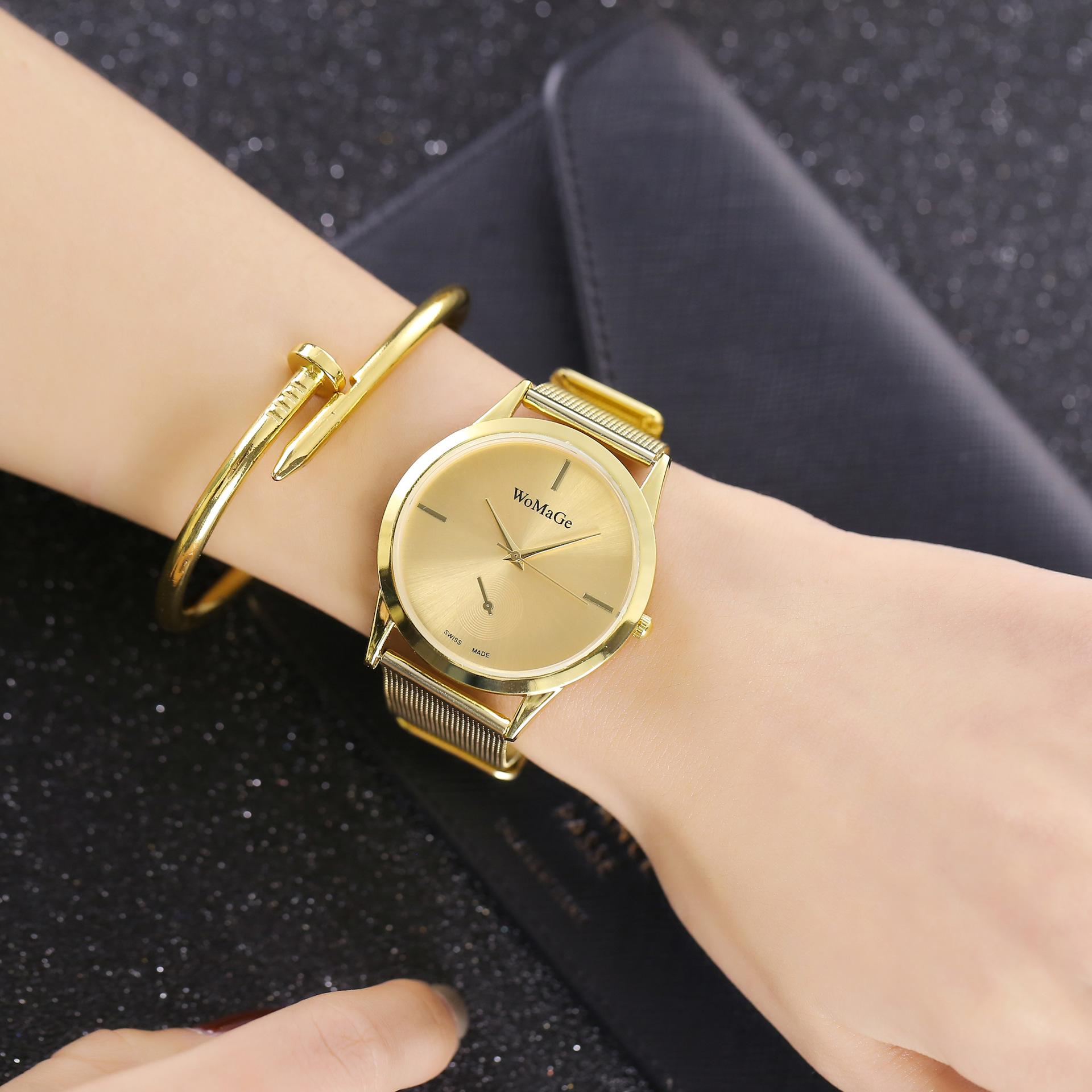 Luxusné dámske hodinky WoMaGe v rôznych farebných prevedeniach ·   Predošlé  ... c4b28770d29