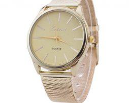 Luxusné dámske hodinky v zlatom prevedení s rôznymi farebnými ciferníkmi a8f583e9eae