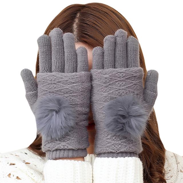 Luxusné dvojdielne dámske rukavice z bavlny v rôznych farebných prevedeniach