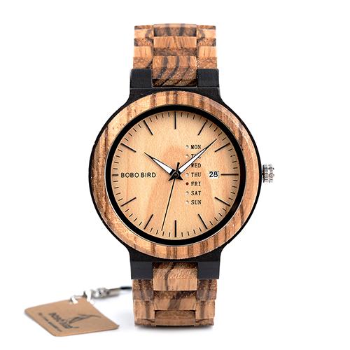 55e5c3586 Luxusné pánske hodinky Bobo Bird v drevenom prevedení · Luxusné a ...