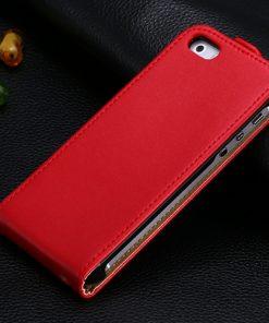 Luxusný kožený obal na iPhone 5/5S vo farbách