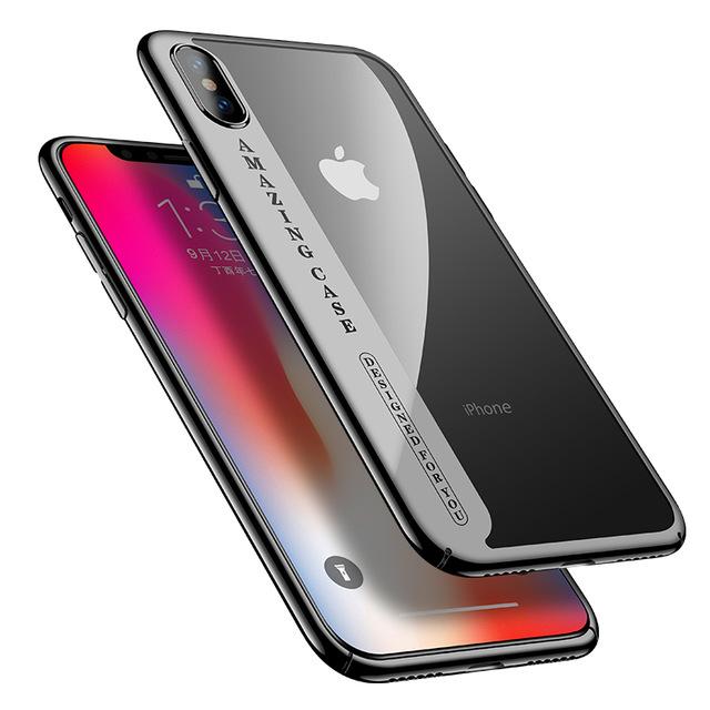 Luxusný plastový kryt pre iPhone X 0e24b5411ad