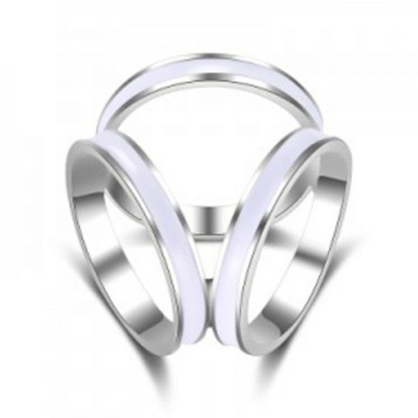 Luxusný prsteň na šatku v rôznych farebných prevedeniach