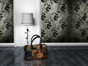 Maľované kožené výrobky - Na výrobkoch sú inšpirácioudiela maliarskych velikánov