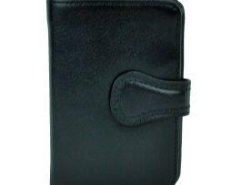 Luxusná exkluzívna kožená peňaženka č.8333 v čiernej farbe  bd9a2998dd3