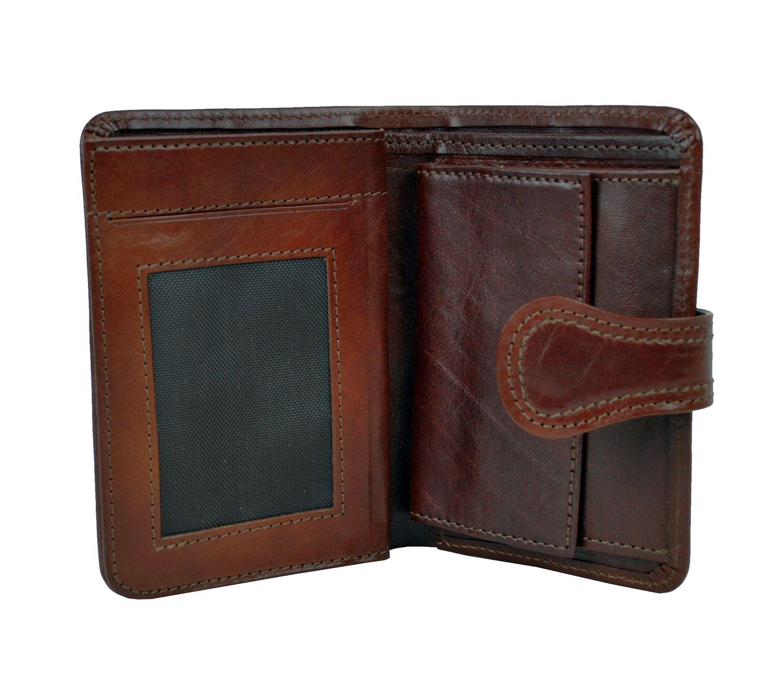 8ebeae7b7c Luxusná moderná kožená peňaženka č.8462 v hnedej farbe · Luxusné a ...