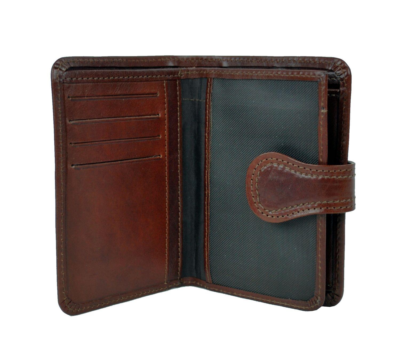 Luxusná moderná kožená peňaženka č.8462 v hnedej farbe  d6b627c1e66