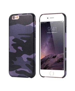 Ochranný kryt na iPhone 7 Plus maskáčový v šedej farbe