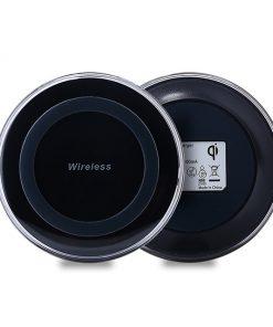QI bezdrôtová nabíjacia podložka pre iPhone v čiernej farbe
