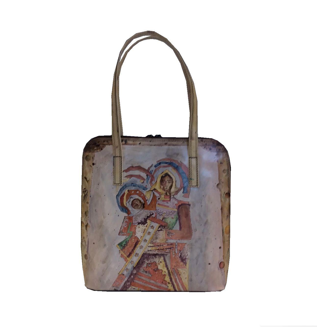 572870a8b4e5 Ručne celomaľovaná dámska kabelka č.8192 s motívom Ľudovít Fulla ...