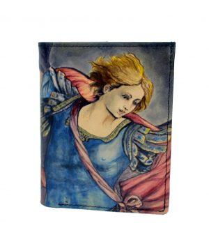 Ručne maľovaná peňaženka 8560 s motívom Guido Reni – Archangel