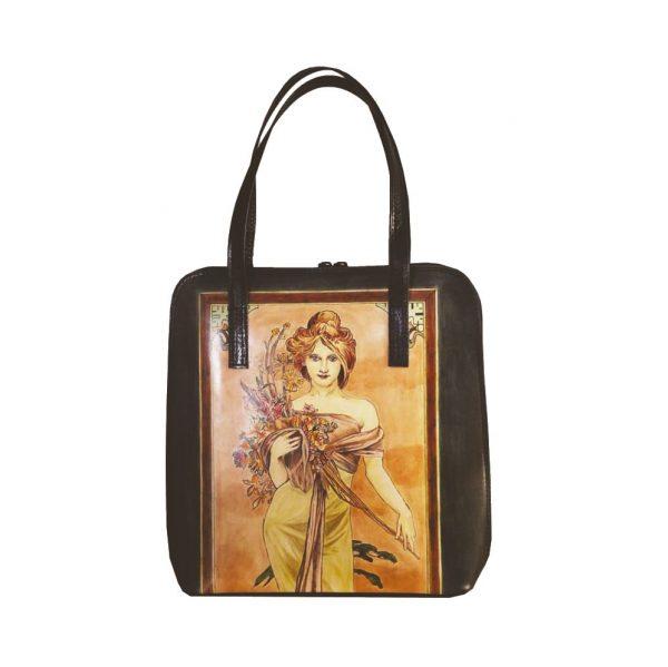 Ručne-maľovaná-kabelka-8192-inšpirovaná-motívom-Alfons-Mucha