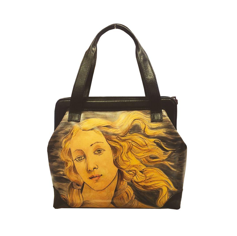 d6a609f41f Ručne maľovaná kabelka 8221 inšpirovaná motívom Sandro Botticelli ...