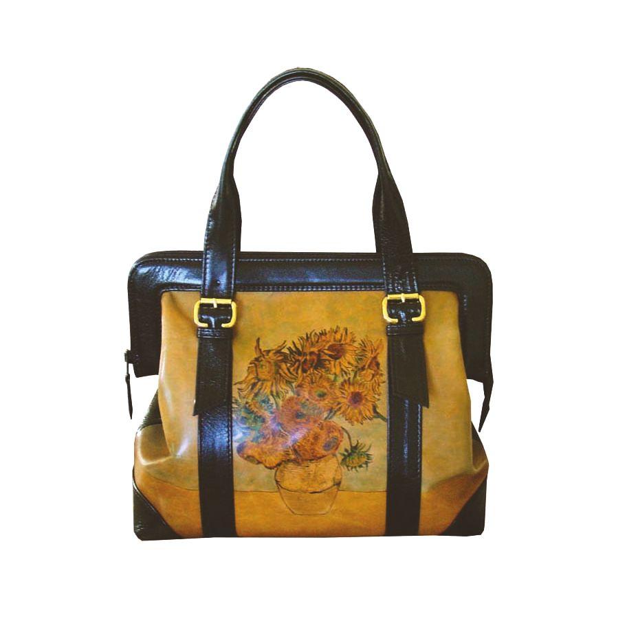e4da4afd9d Ručne maľovaná kabelka 8221 inšpirovaná motívom Vincent Van Gogh ...