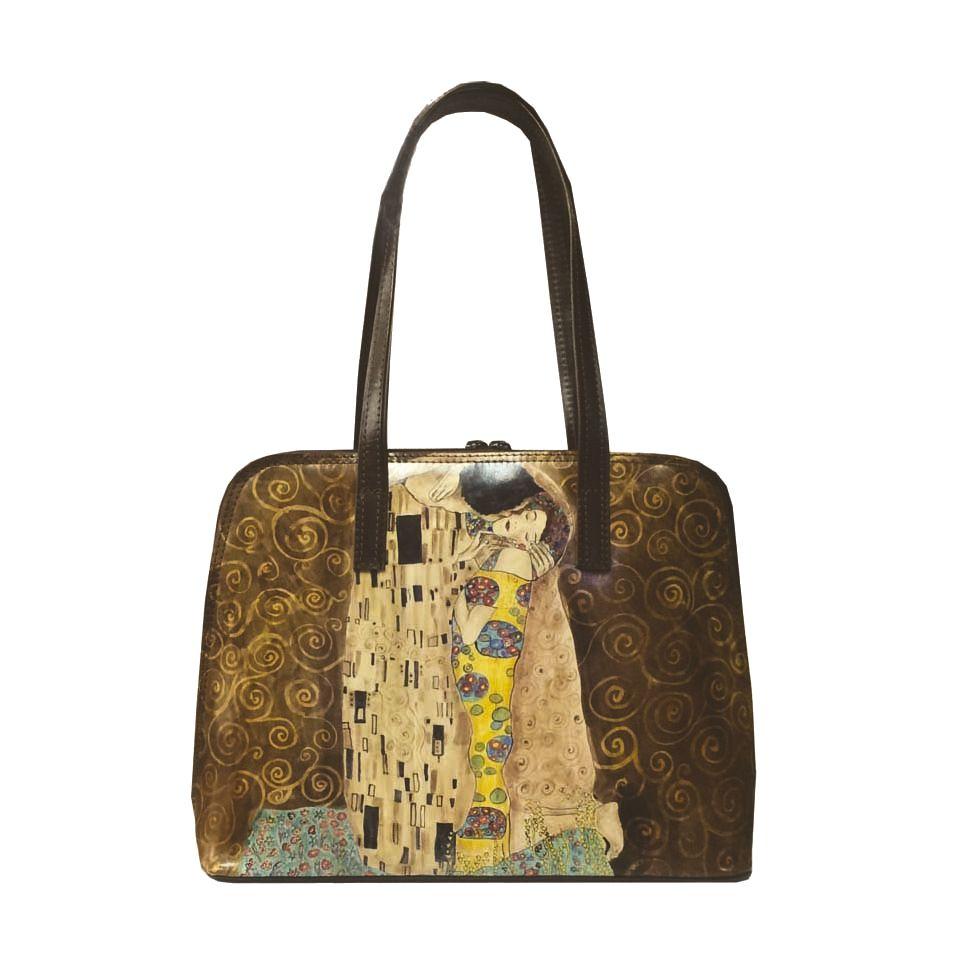 a65f401b96 Ručne maľovaná kabelka 8573 inšpirovaná motívom Gustav Klimt ...