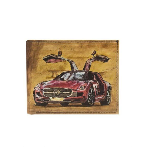 Ručne-maľovaná-peňaženka-8406-s-motívom-Mercedes