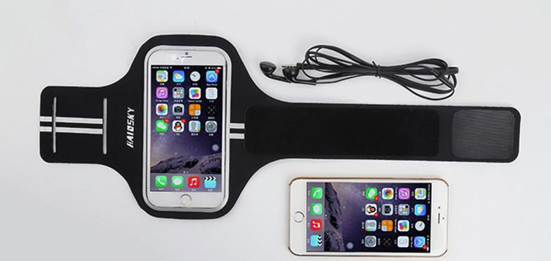 Športové púzdro Haissky na behanie pre iPhone 6 Plus 4e64acbf442