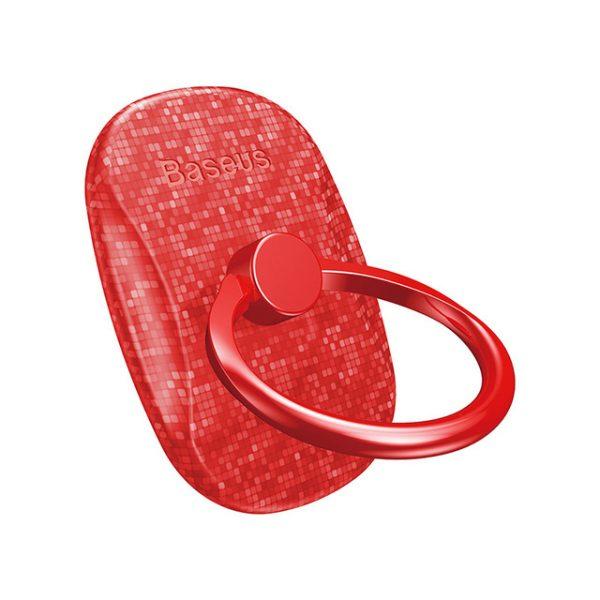 Štýlový držiak do ruky na iPhone BASEUS, červená farba