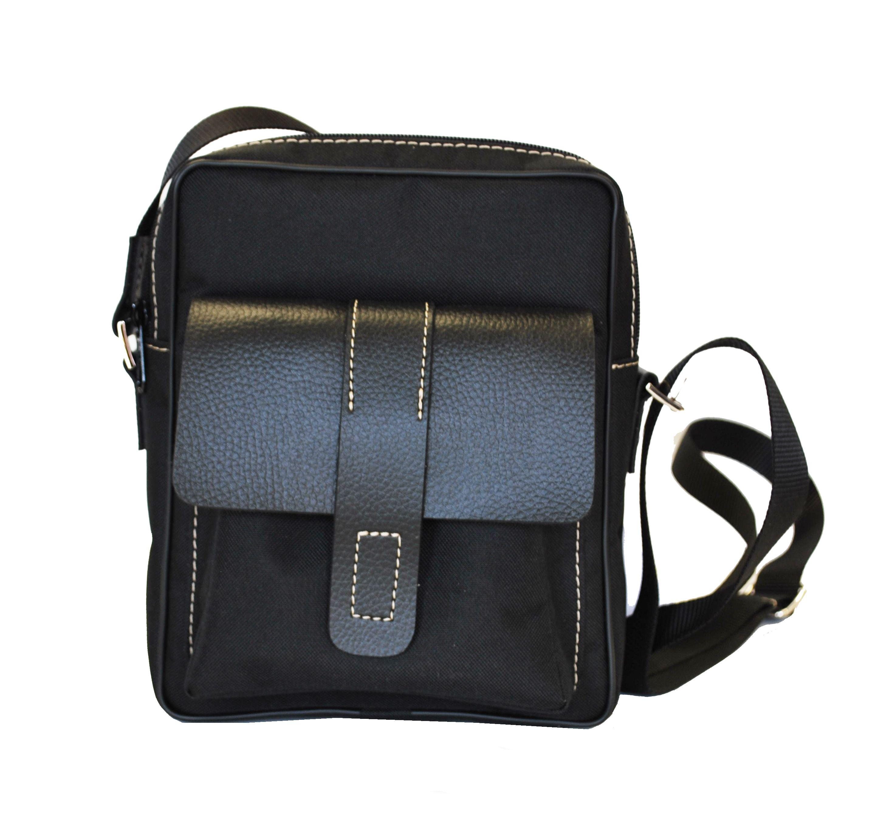 53ab803d7f Textilná športová etua crossbody v čiernej farbe · Luxusné a módne ...