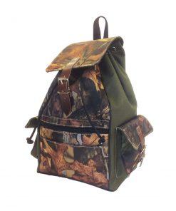 Textilný športový ruksak 8673 s popruhom v zelenej farbe