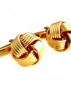 Luxusné manžetové gombíky v tvare klbka v rôznych farbách
