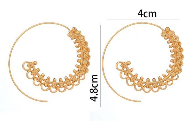 Unikátne naušnice v tvare špirálového kruhu v rôznych farbách ·   Predošlé  ... 38c8e17a9d2