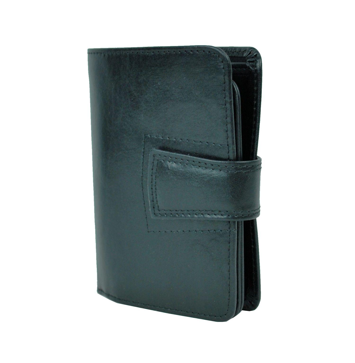 Luxusná kožená elegantná peňaženka č.8464 v čiernej farbe  03db952fcea