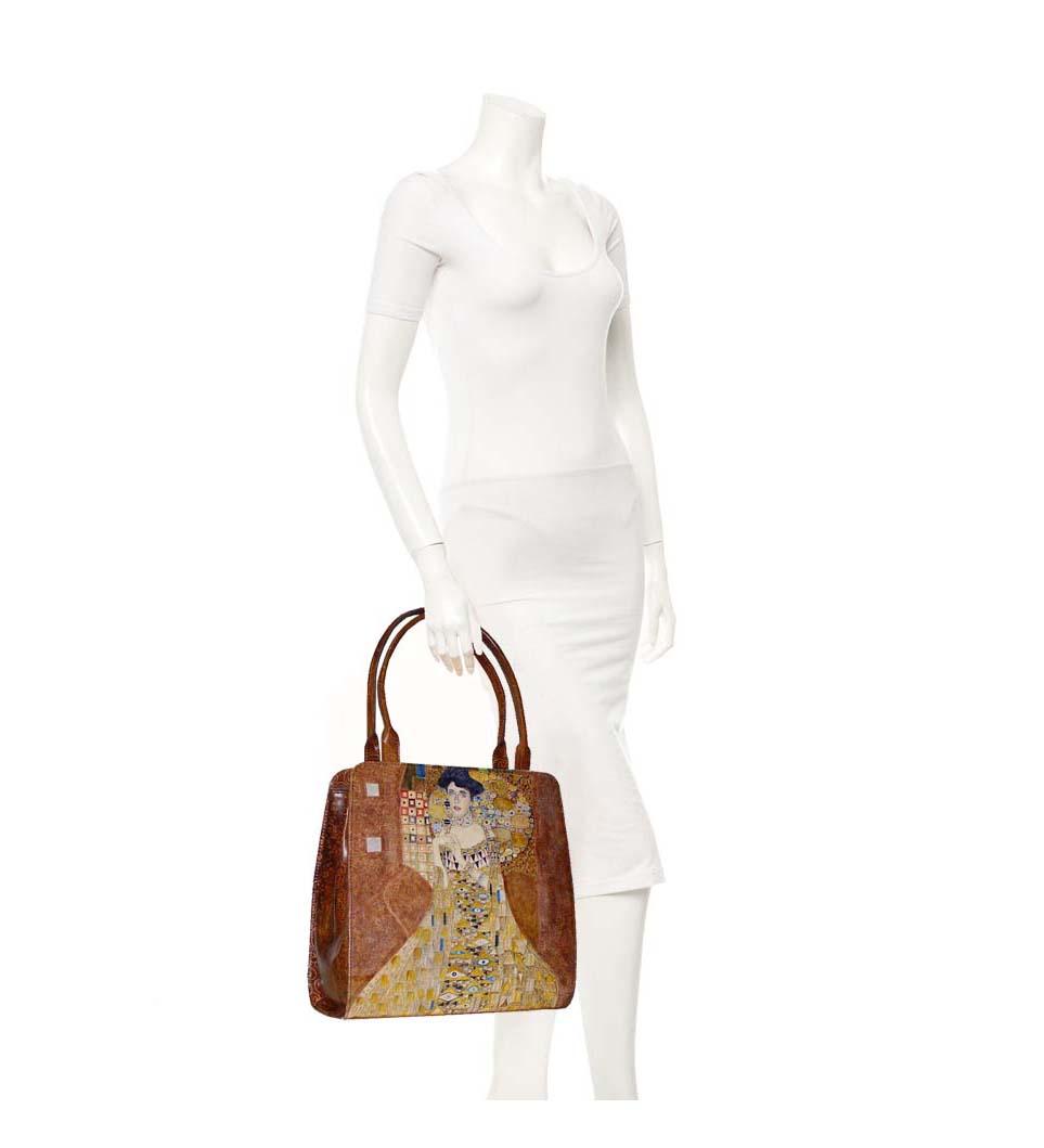 1053e7ccbc Ručne maľovaná kabelka 8650 inšpirovaná motívom Gustav Klimt ...