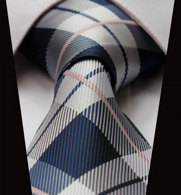 Elegantná sada - hodvábna kravata s vreckovkou - vzor04