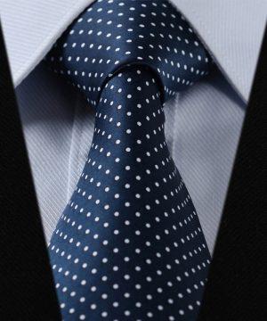 Elegantná sada - hodvábna kravata s vreckovkou - vzor11