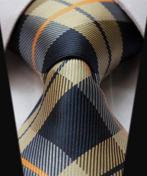 Elegantná sada - hodvábna kravata s vreckovkou - vzor14