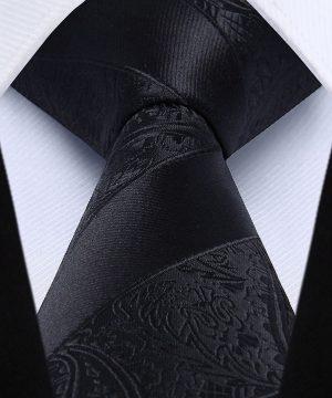 Hodvábna kravatová sada - kravata a vreckovka - vzor 30