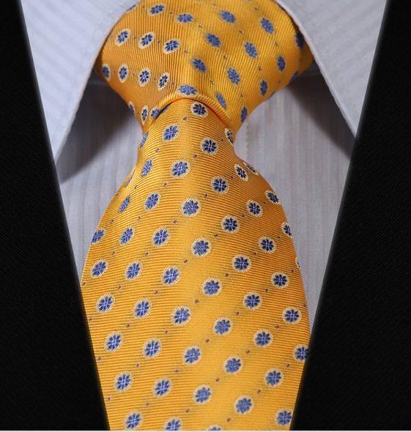 Luxusná pánska sada - kravata a vreckovka - vzor13