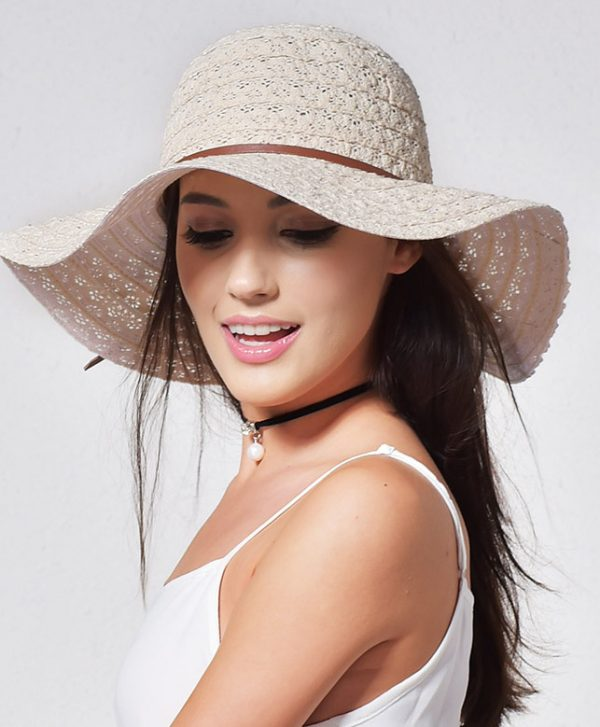 Luxusný dámsky klobúk v rôznych farbách
